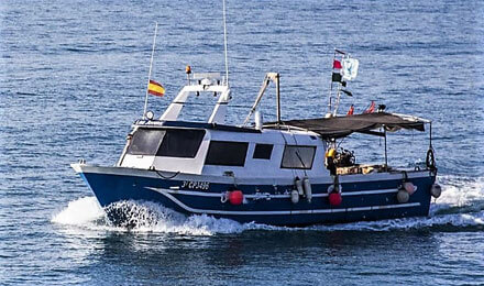 fishingtripspain.co.uk boat tours in Vinaroz with Jovens